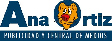 Logotipo Ana Ortiz Publicidad y Central de Medios