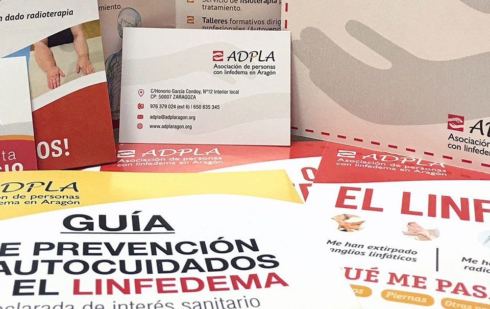 Papelería ADPLA - Asociación de Linfedema de Aragón