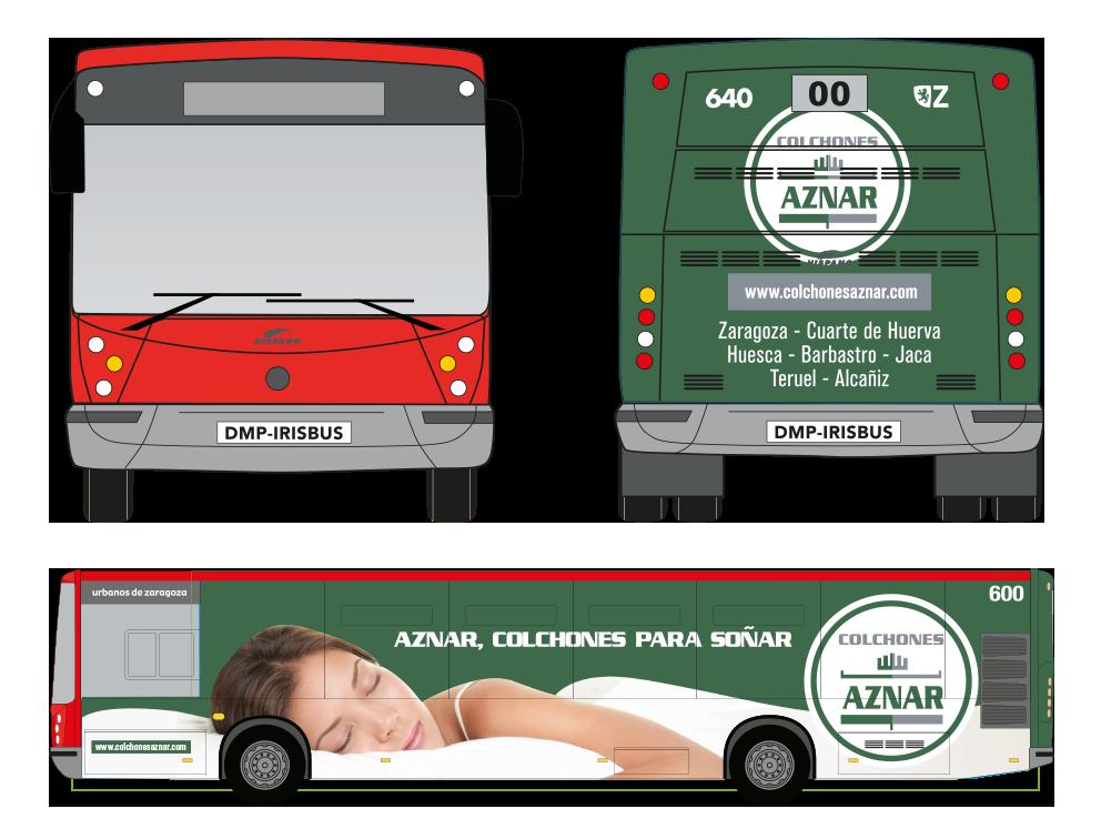 Diseño autobús integral Zaragoza
