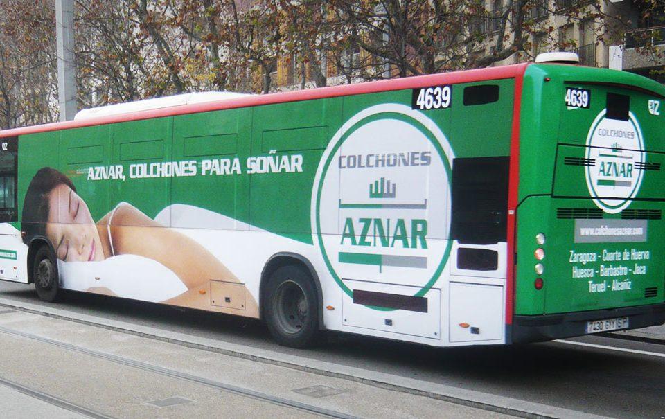 Autobuses | Ana Ortiz Publicidad