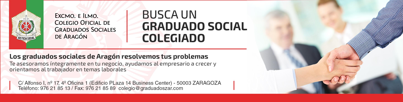 Publicidad prensa - Colegio Graduados Sociales Aragón