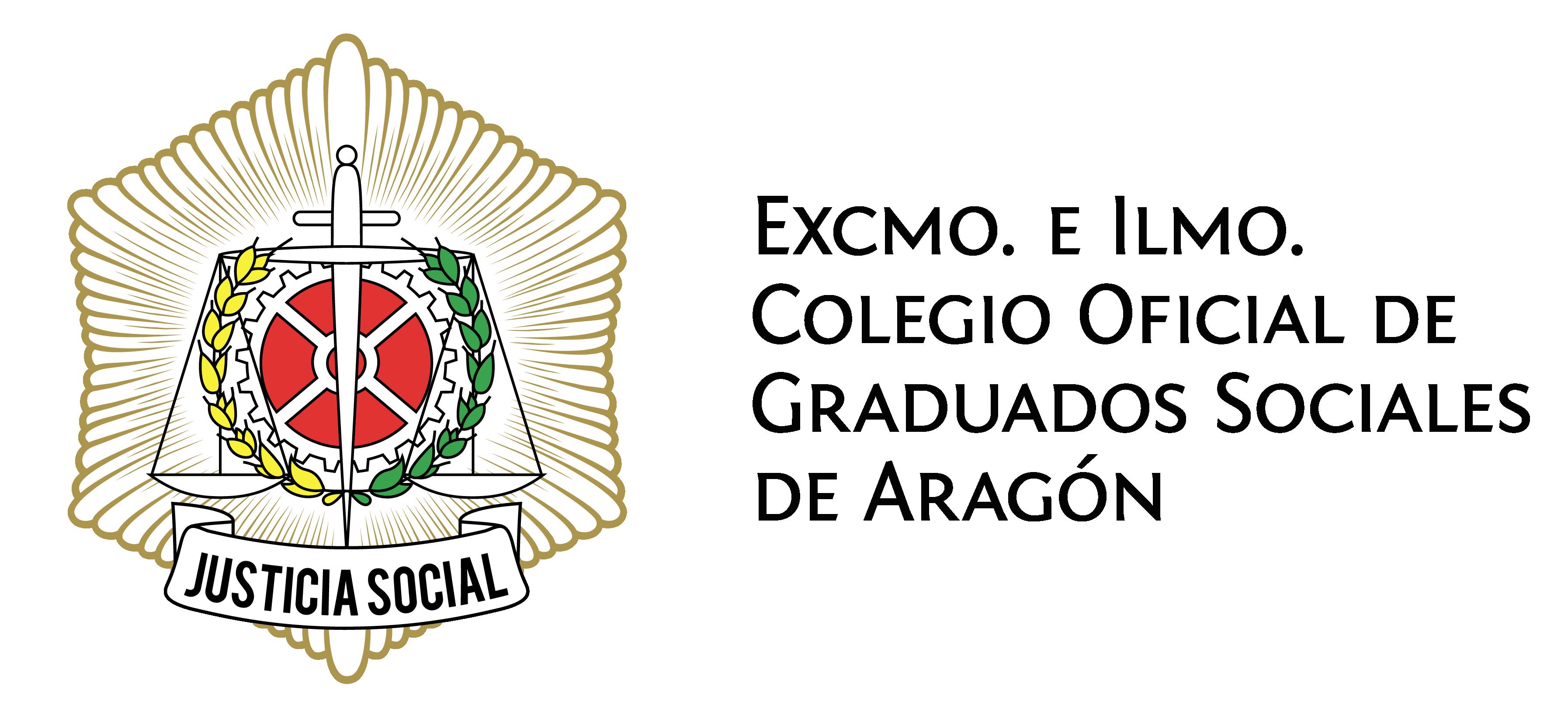Logotipo Colegio Oficial de Graduados Sociales de Aragón