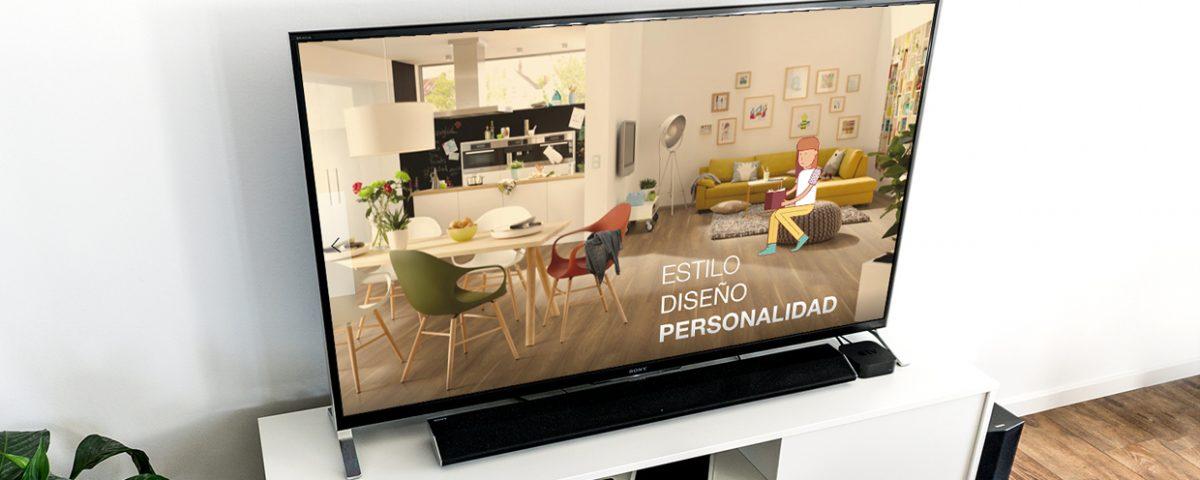 Mockup spot TV - Ana Ortiz Publicidad, Zaragoza