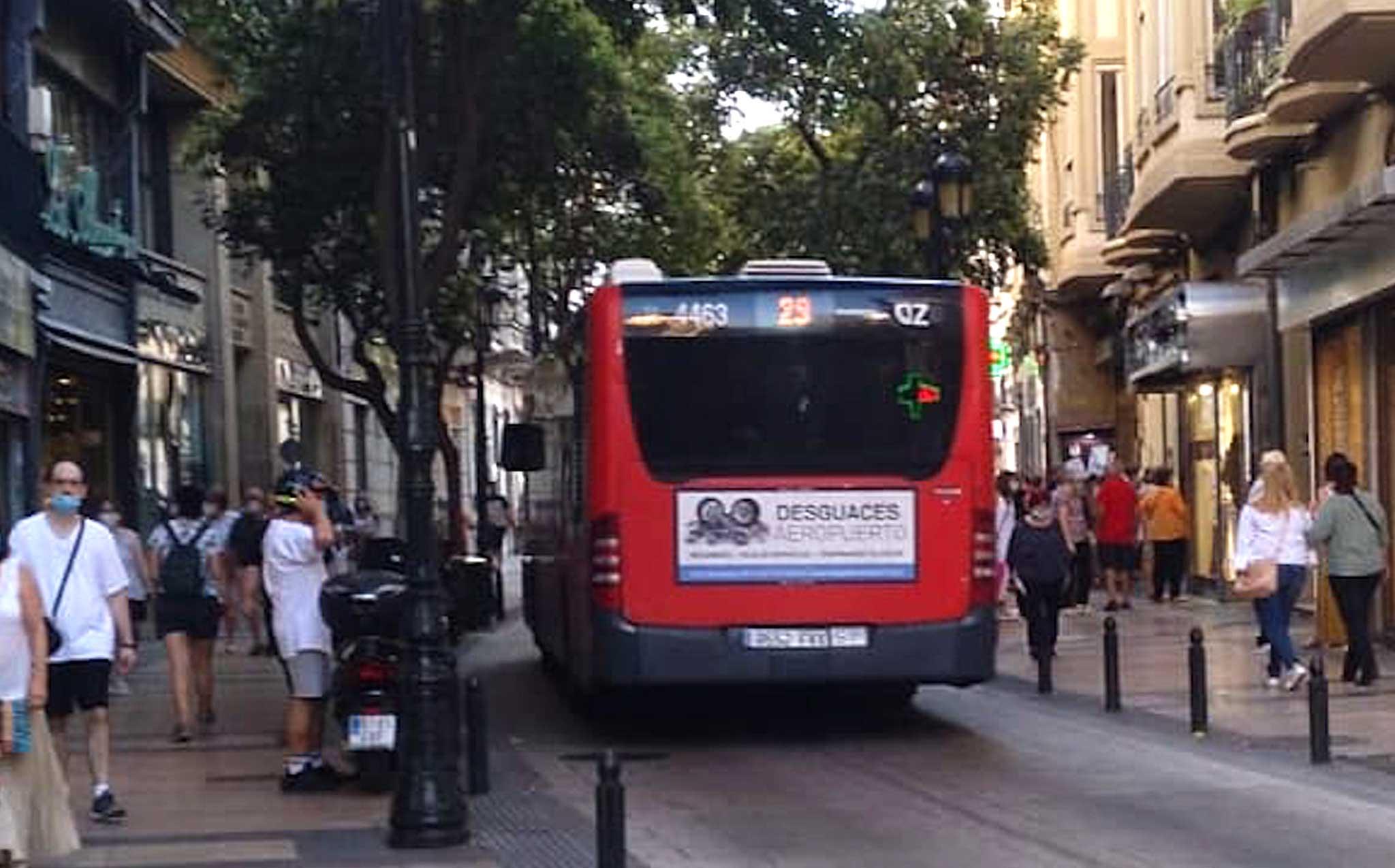 Autobus estandar Desguaces