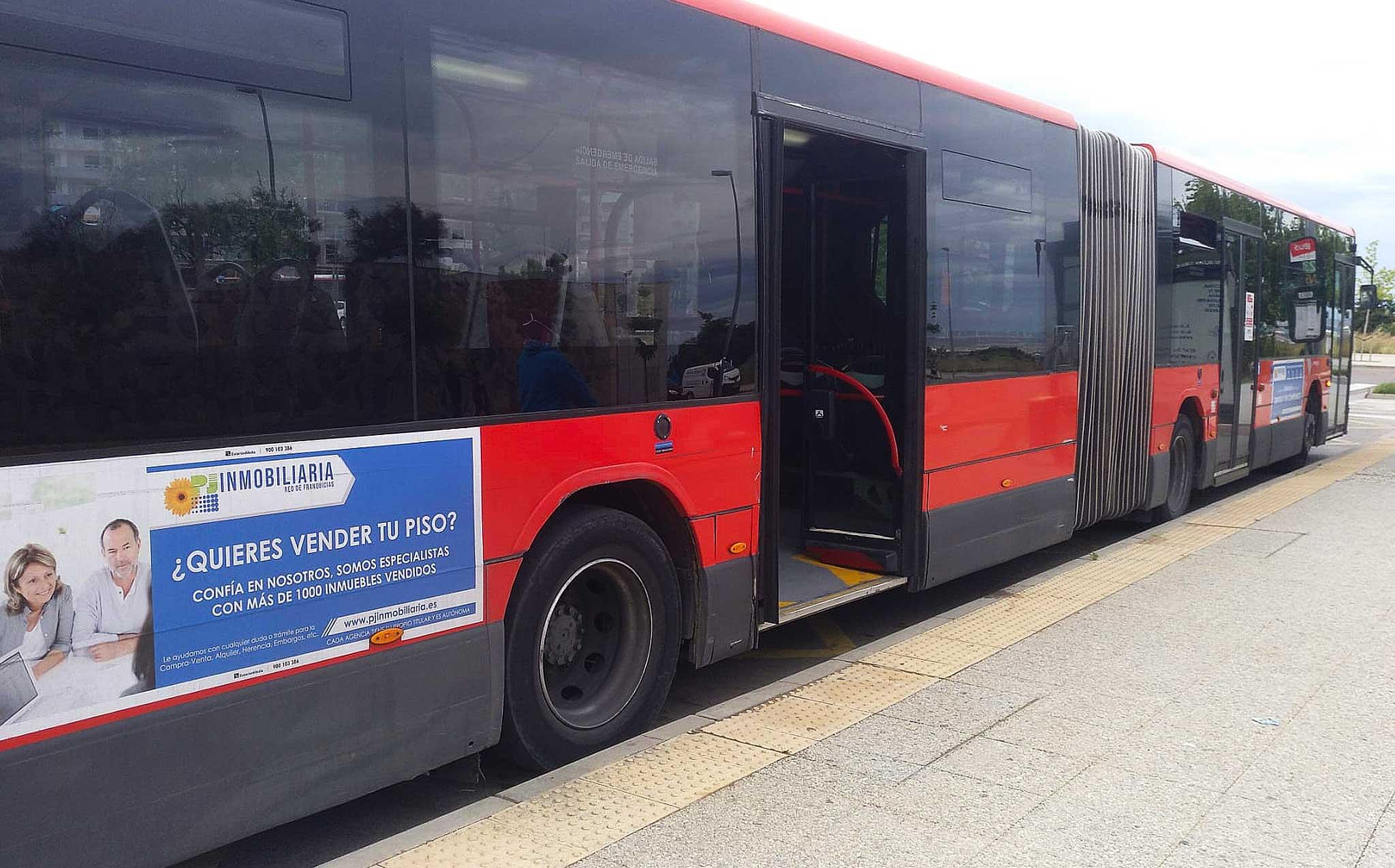 autobus articulado zaragoza