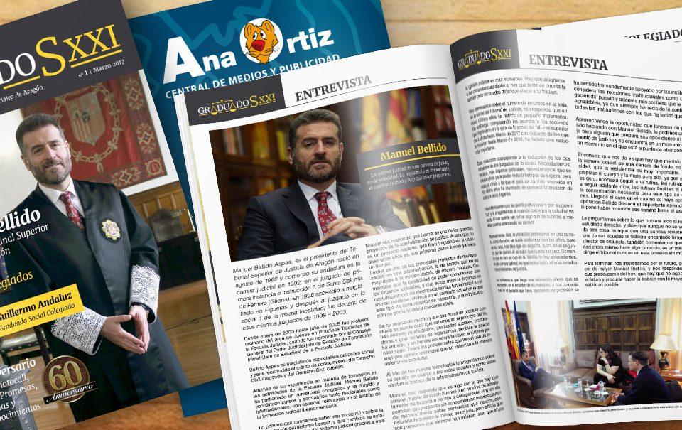 Colegio Graduados Sociales de Aragón - Revista nº1